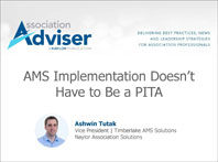 AMS Implementation Doesn't Have to Be a PITA