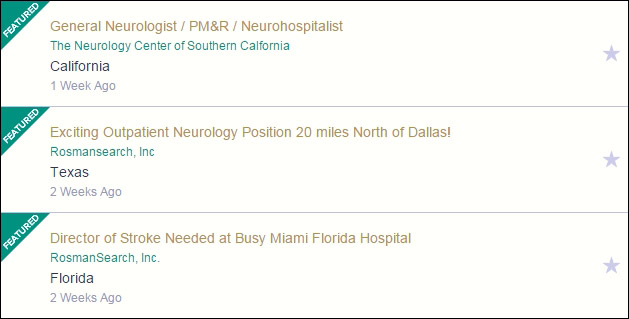The American Academy of Neurology includes the top 3 pieces of information job seekers want when scanning job openings: job title, employer, and location.