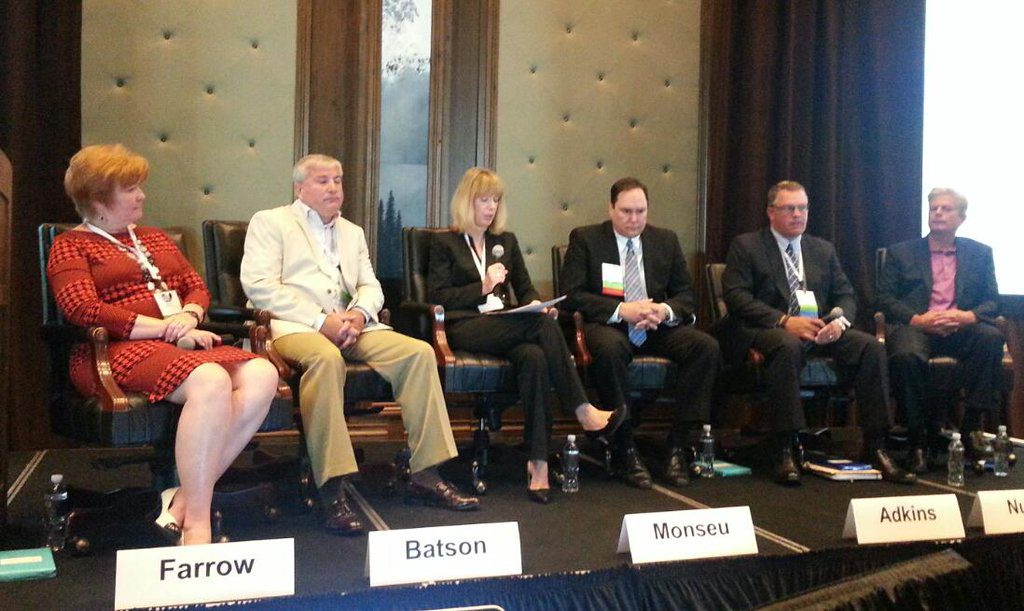 Betsy Monseu, moderates the Coal Supply Chain Panel at the 2015 Coal Market Strategies Conference in Park City, Utah.