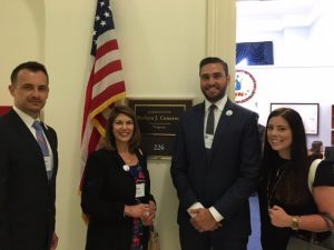 NASBP members during a recent Fly-In on Capitol Hill.