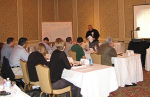 NASBP members during a class in Surety School. Photo courtesy of NASBP.