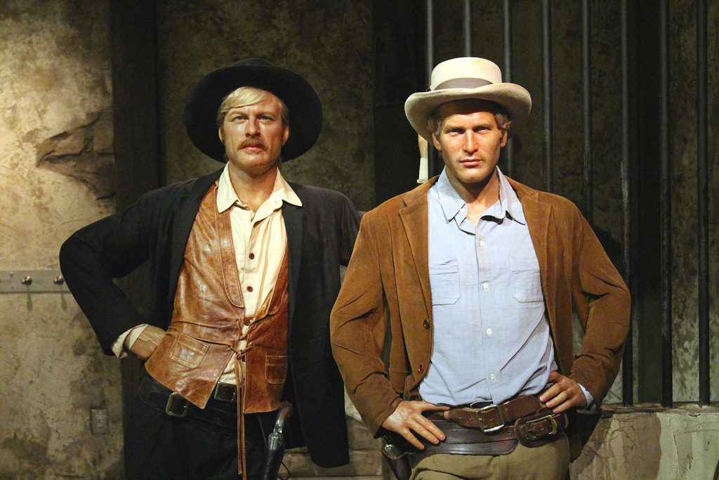 Paul Newman and Robert Redford starred in Butch Cassidy and the Sundance Kid.