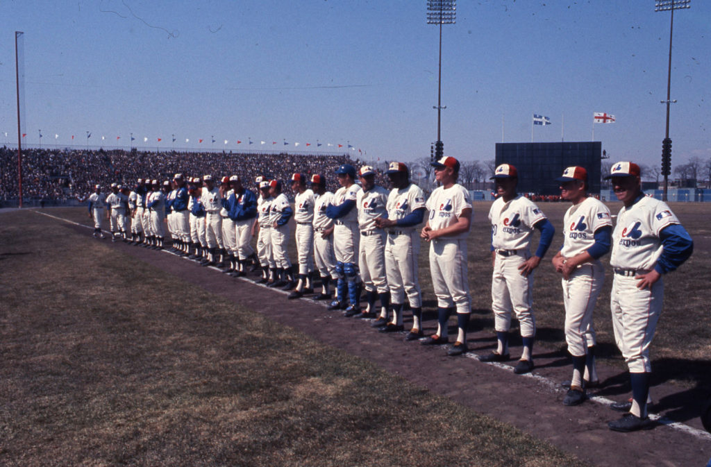 The Montreal Expos debuted in the MLB, beating the New York Mets during their first game in April 1969.