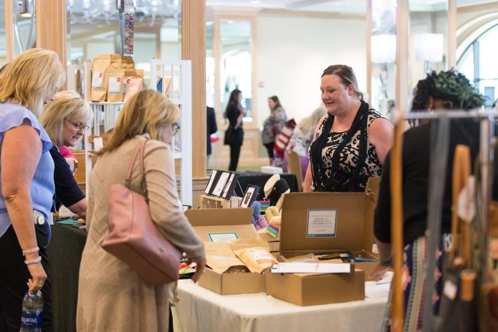 FSAE attendees purchased more than $2,300 worth of merchandise and donated $700 to help Rethreaded give more opportunities to survivors of human trafficking.