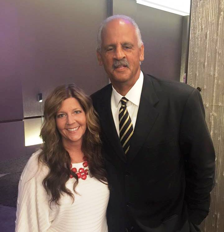 Chris Haerich with Stedman Graham, keynote speaker at a recent PACE event.