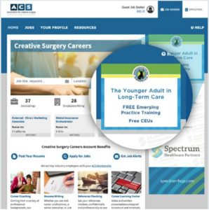 Career Center Programmatic Ad Example