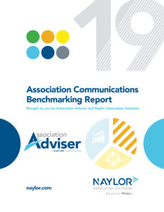 2019 Association Communications Benchmarking Report Cover