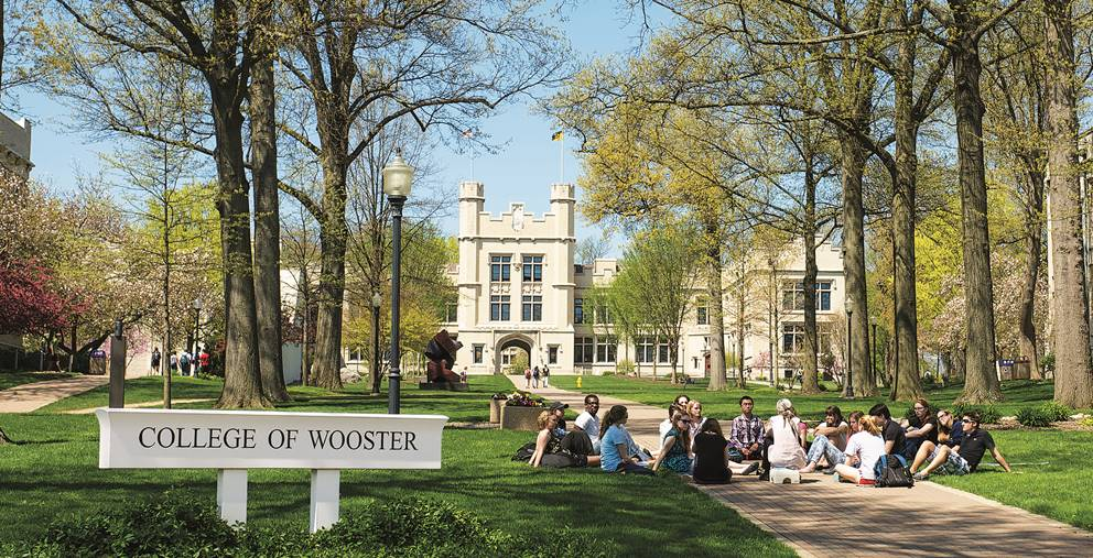 College of Wooster campus