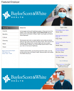 Featured Employer on Online Career Center