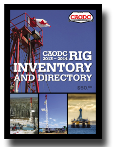 CAODC 2013-2014 Rig Inventory and Directory cover