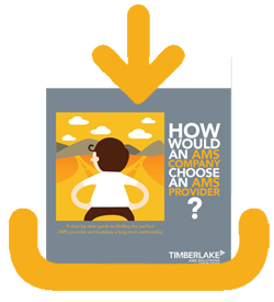 "Download our eBook, ""How Would an AMS Company Choose an AMS Provider?"""