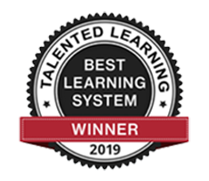 Talented Learning Best Learning System Award