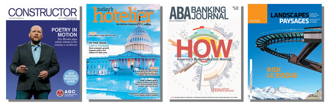 Print magazines engage members with relevant industry and association news, while earning non-dues revenue for your association.